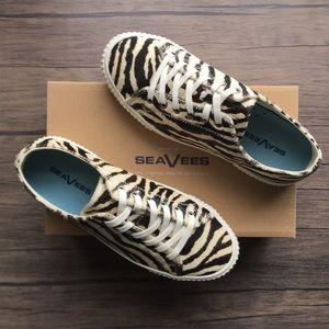 NWT SeaVees Darby Zebra Print Sneakers!!!